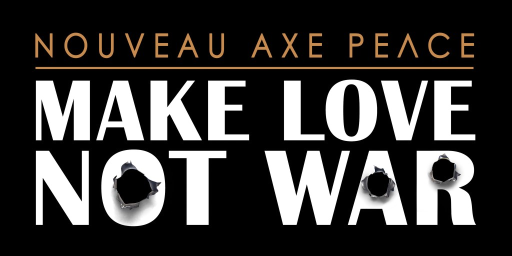 Logo AXE PEACE Make Love Not War