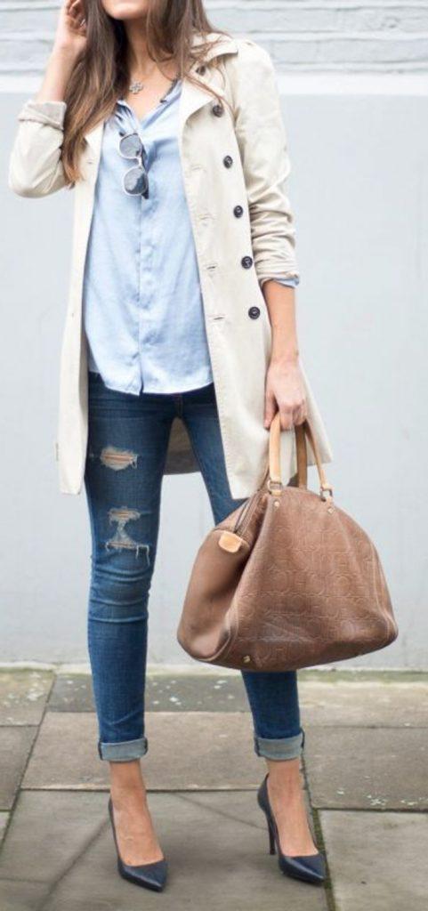le-style-casuel-chic-cool-adoptez-tenues-chics-femmes-quotidienne-idee-veste-jeans-chemise